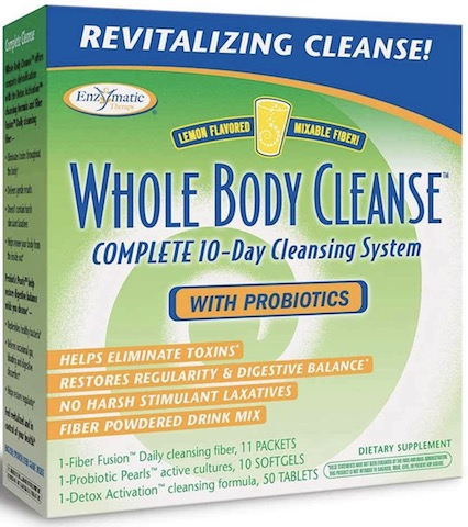 Image of Whole Body Cleanse with Probiotics 10 Day (with Lemon Flavored Fiber)