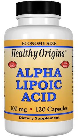 Image of Alpha Lipoic Acid 100 mg