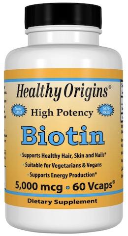 Image of Biotin 5000 mcg (5 mg)