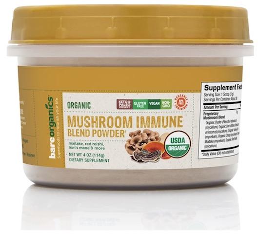 Image of Mushroom Immune Blend Powder (Organic)