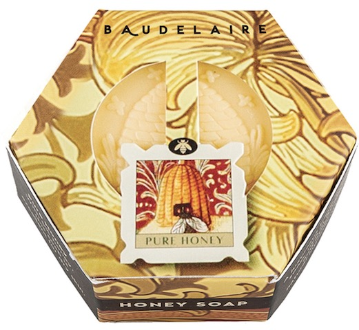 Image of Honey Soap Bar Hex box Pure Honey