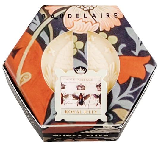 Image of Honey Soap Bar Hex Box Royal Jelly