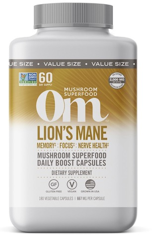 Image of Lion's Mane Mushroom Superfood Capsule