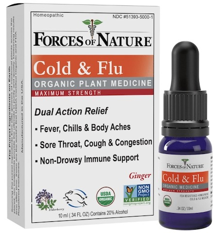 Image of Cold & Flu Relief Maximum Strength Liquid