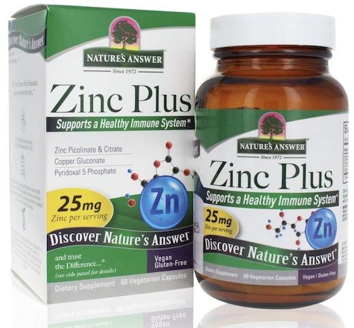 Image of Zinc Plus 25 mg