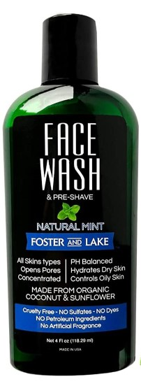 Image of Face Wash Natural Mint