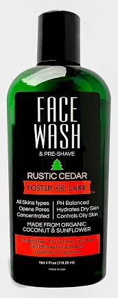 Image of Face Wash Rustic Cedar