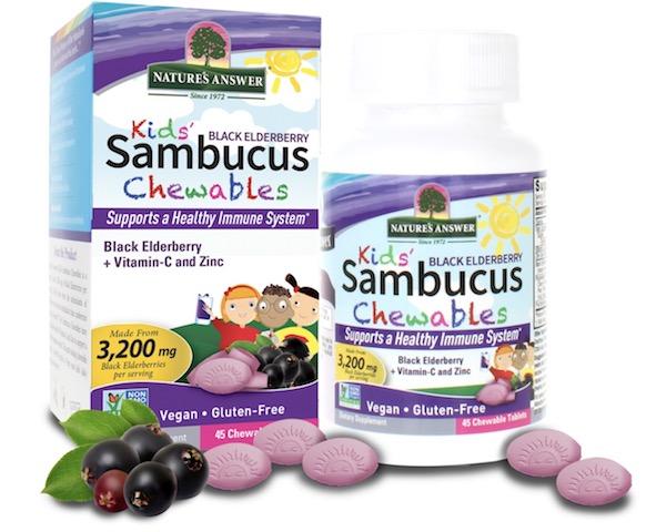 Image of Sambucus Kids Chewable