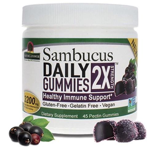 Image of Sambucus Gummies 2X Strength