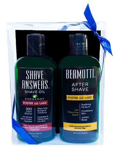 Image of Shave Answers Shave Oil Bergamot + Bermotti After Shave