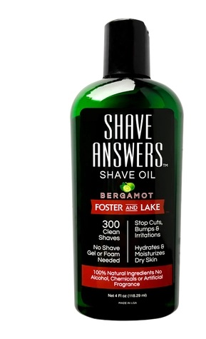 Image of Shave Oil Shave Answers Bergamot