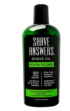 Image of Shave Oil Shave Answers Unscented