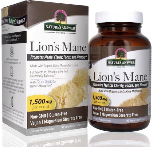 Image of Lion's Mane 500 mg Organic