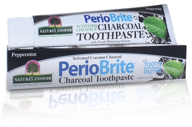 Image of PerioBrite Toothpaste Charcoal Peppermint