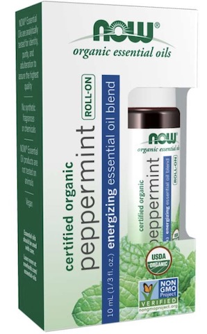 Image of Essential Oil Peppermint Organic Roll-On