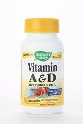 Image of Vitamin A & D 15,000 IU & 400 IU