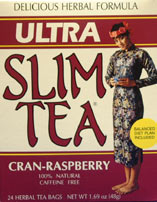 Image of Ultra Slim Tea Cran-Raspberry