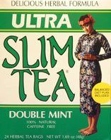 Image of Ultra Slim Tea Double Mint
