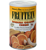 Image of FRUITEIN Banana Orange Creme Shake