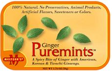 Image of Puremints Ginger 5% Gingerol