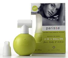 Image of Parissa 2 in 1 Roll-on Hair Remover