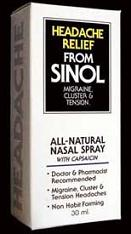 Image of Sinol-m Headache Relief Spary Nasal Spray