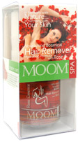 Image of MOOM Botanical Hair Removal Kit with Rose Essence