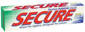 Image of Secure Denture Bonding Cream