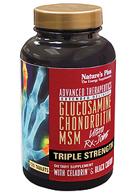 Image of Glucosamine Chondroitin MSM Ultra Rx-Joint Triple Strength with Celadrin