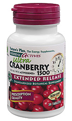 Image of Ultra Cranberry 1500, Herbal Actives - Extended Release