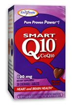 Image of SMART Q10 CoQ10 100 mg Chewable Chocolate