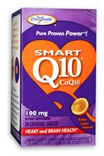 Image of Smart Q10 CoQ10 100 mg Chewable Orange Creme