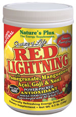 Image of Source of Life Red Lightning Energy Drink Packets