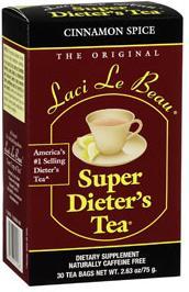 Image of Laci Le Beau Super Dieters Tea Cinnamon Spice
