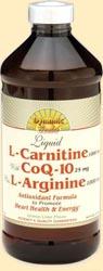 Image of L-Carnitine with CoQ-10 plus L-Arginine Liquid