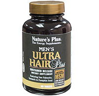 Image of Men's Ultra Hair Plus Sustained Release Tablets