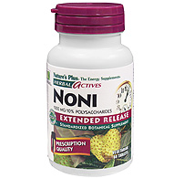 Image of Noni 500 mg, Herbal Actives - Extended Release