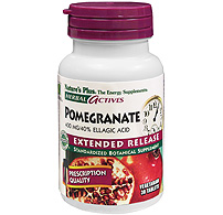 Image of Pomegranate 400 mg, Herbal Actives - Extended Release