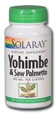 Image of Yohimbe & Saw Palmetto 490 mg