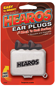 Image of Hearos Ear Plugs Rock 'n Roll Series
