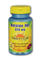 Image of Betaine HCl 350 mg