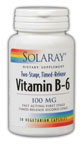 Image of Vitamin B-6 100 mg Two Stage Timed Release