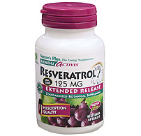 Image of Resveratrol 125 mg, Herbal Actives - Extended Release