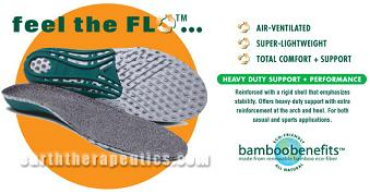Image of CIRCUFLO Odor Absorbing IMPACT Support Insoles Large