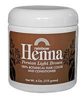 Image of Henna Persian Light Brown Jar