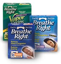 Image of Breathe Right Nasal Strips Clear Small/Medium