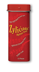 Image of Zylicious Xylitol Gum Cinnamon