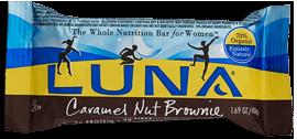 Image of Luna Bar Organic Carmel Nut Brownie
