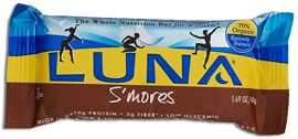 Image of Luna Bar Organic S'mores