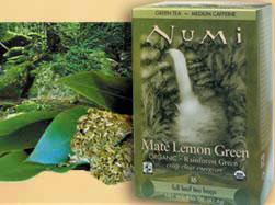 Image of Green Tea Mate Lemon Green - Rainforest Green